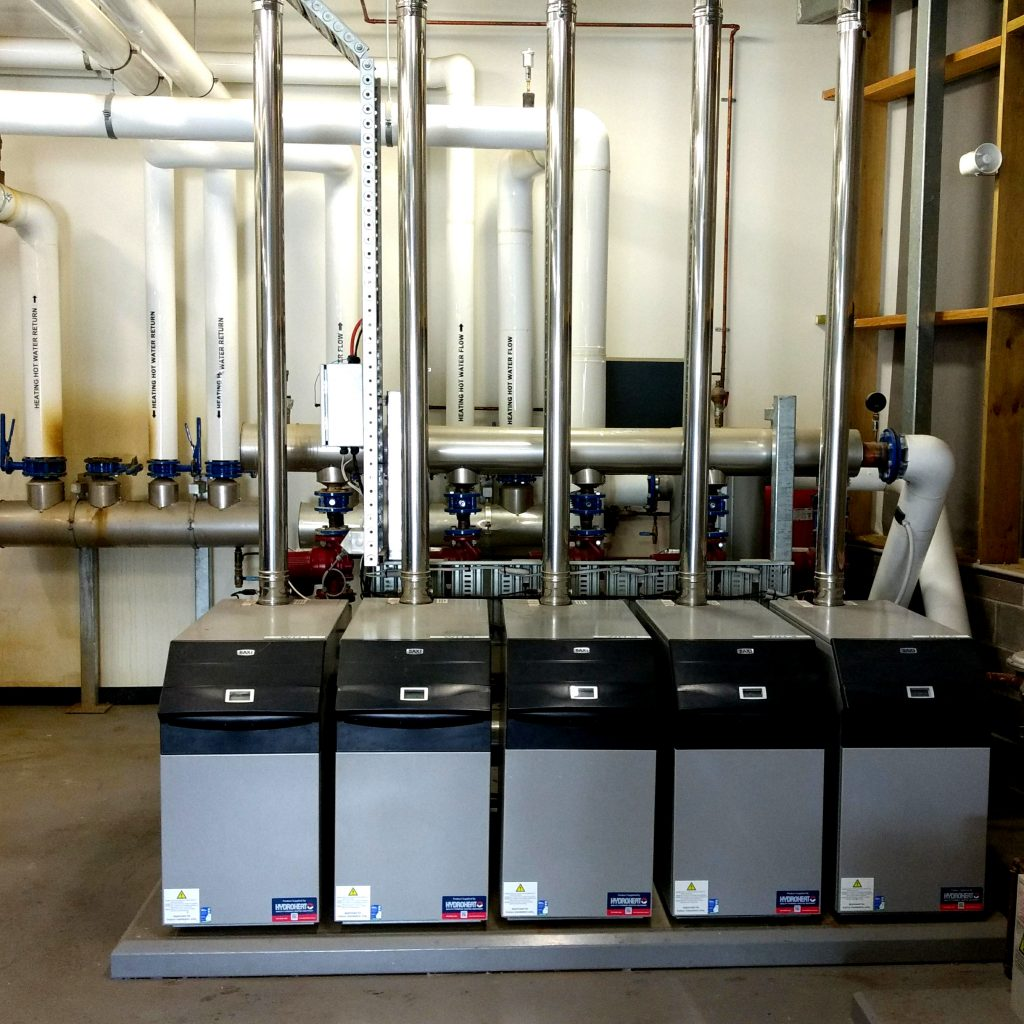 Gas boilers plant 3-3